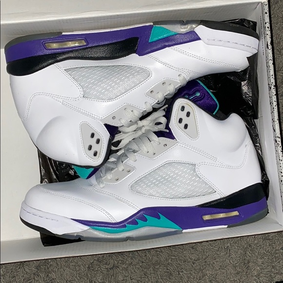 Jordan Shoes   Jordan 5 Grape Size 2